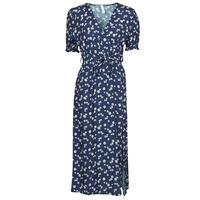 Oblačila Ženske Kratke obleke Fashion brands 11118-BLEU Modra