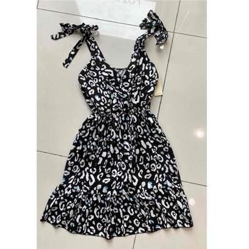 Oblačila Ženske Kratke obleke Fashion brands 5165-NOIR Črna