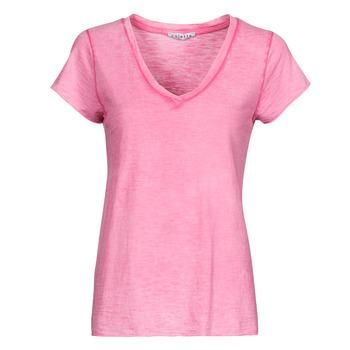 Oblačila Ženske Topi & Bluze Fashion brands 029-COEUR-FUCHSIA Fuksija