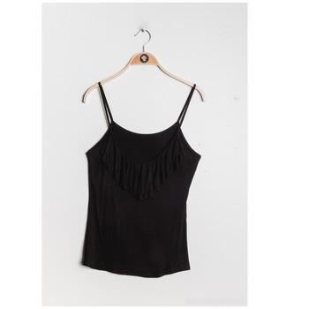 Oblačila Ženske Topi & Bluze Fashion brands D852-BLACK Črna
