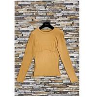 Oblačila Ženske Topi & Bluze Fashion brands HD-2813-N-BROWN Kostanjeva