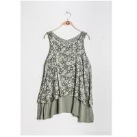 Oblačila Ženske Topi & Bluze Fashion brands 9673-KAKI Kaki