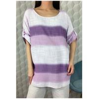 Oblačila Ženske Topi & Bluze Fashion brands 156485V-LILAC Vijolična