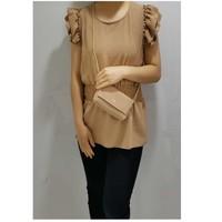 Oblačila Ženske Topi & Bluze Fashion brands 3101-CAMEL Kamel