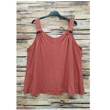 Oblačila Ženske Topi & Bluze Fashion brands 3841-RASPBERRY Rožnata