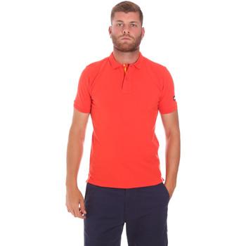 Oblačila Moški Polo majice kratki rokavi Sundek M791PJ6500 Rdeča