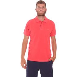 Oblačila Moški Polo majice kratki rokavi Sundek M787PLPQ1TC Rdeča