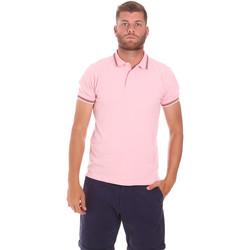 Oblačila Moški Polo majice kratki rokavi Sundek M779PLJ6500 Roza