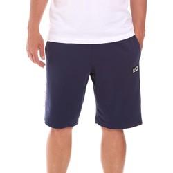 Oblačila Moški Kratke hlače & Bermuda Ea7 Emporio Armani 3KPS81 PJ05Z Modra