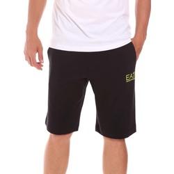 Oblačila Moški Kratke hlače & Bermuda Ea7 Emporio Armani 3KPS59 PJ05Z Črna