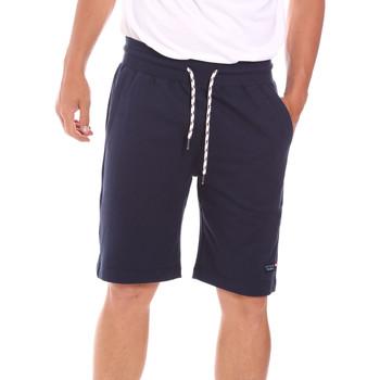 Oblačila Moški Kratke hlače & Bermuda Key Up 2F38E 0001 Modra
