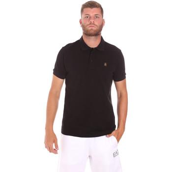 Oblačila Moški Polo majice kratki rokavi Refrigiwear RM0T25900PQ9002 Črna