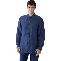 Oblačila Moški Srajce z dolgimi rokavi Trussardi 52C00212-1T002248 Modra