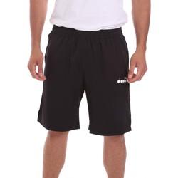Oblačila Moški Kratke hlače & Bermuda Diadora 102175682 Črna