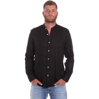 Oblačila Moški Srajce z dolgimi rokavi Refrigiwear RM0C10100LI9110 Črna
