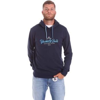Oblačila Moški Puloverji Key Up 2F453 0001 Modra