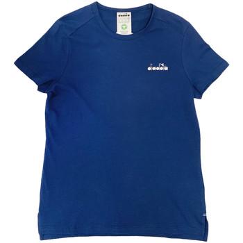 Oblačila Ženske Majice s kratkimi rokavi Diadora 102175882 Modra