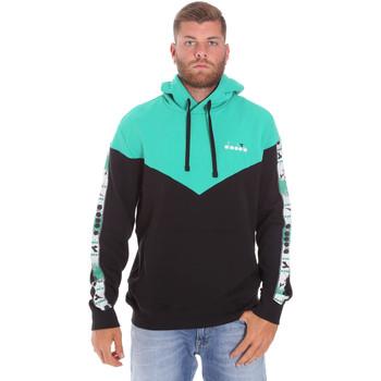 Oblačila Moški Puloverji Diadora 502176092 Črna