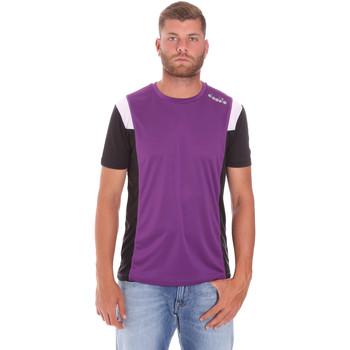 Oblačila Moški Majice s kratkimi rokavi Diadora 102175719 Vijolična