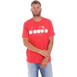 Oblačila Moški Majice s kratkimi rokavi Diadora 502176633 Rdeča