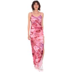 Oblačila Ženske Dolge obleke Me Fui M20-0958X1 Roza