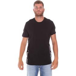 Oblačila Moški Majice s kratkimi rokavi Diadora 502176631 Črna