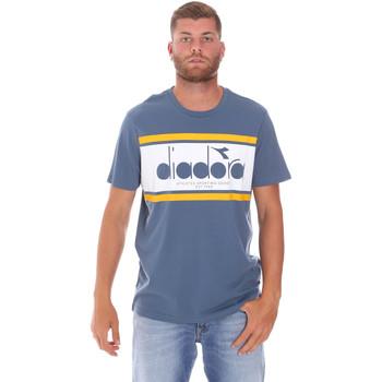 Oblačila Moški Majice s kratkimi rokavi Diadora 502176632 Modra