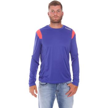 Oblačila Moški Majice z dolgimi rokavi Diadora 102175720 Modra