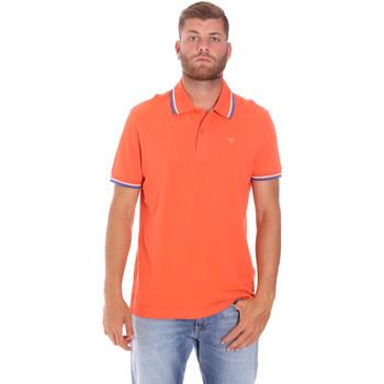 Oblačila Moški Polo majice kratki rokavi Diadora 102161006 Oranžna