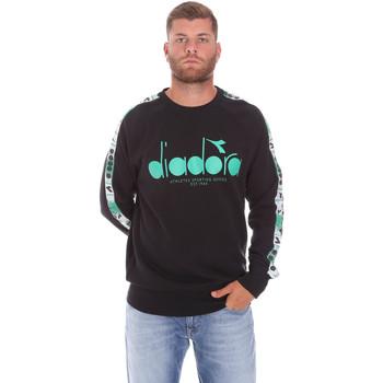 Oblačila Moški Puloverji Diadora 502175376 Črna