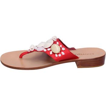 Čevlji  Ženske Japonke Eddy Daniele AW374 Rdeča