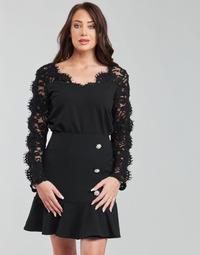 Oblačila Ženske Topi & Bluze Moony Mood PABSCONE Črna