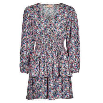 Oblačila Ženske Kratke obleke Moony Mood PAPIS Rožnata