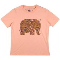 Oblačila Ženske Srajce & Bluze Trendsplant CAMISETA MUJER  029970WPTP Oranžna