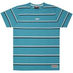 Oblačila Moški Majice s kratkimi rokavi Jacker Poh stripes Modra