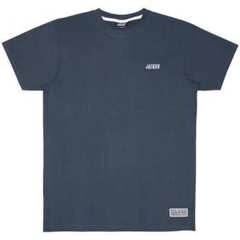 Oblačila Moški Majice s kratkimi rokavi Jacker Classic logo Modra