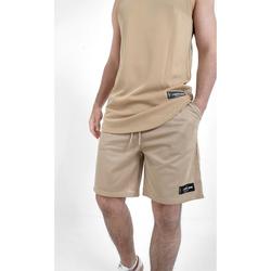 Oblačila Moški Kratke hlače & Bermuda Sixth June Short  Mesh beige