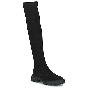 Čevlji  Ženske Visoki škornji Vanessa Wu PONANT Črna