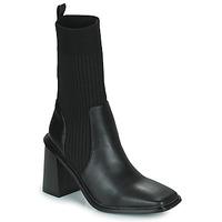 Čevlji  Ženske Gležnjarji Vanessa Wu SIMOUN Črna