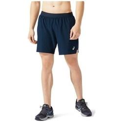 Oblačila Moški Kratke hlače & Bermuda Asics Road 2IN1 7 IN Short Mornarsko modra
