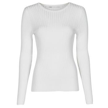 Oblačila Ženske Puloverji Only ONLNATALIA Kremno bela
