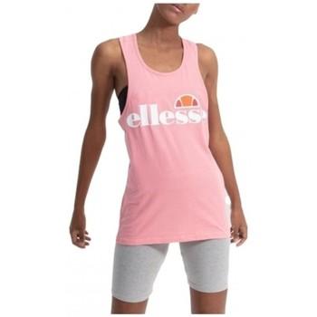 Oblačila Ženske Majice brez rokavov Ellesse CAMISETA TIRANTES  SGS04485 Rožnata