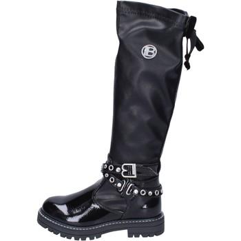 Čevlji  Deklice Visoki škornji Laura Biagiotti  Črna