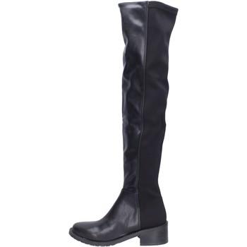 Čevlji  Ženske Visoki škornji Olga Rubini BH523 Črna