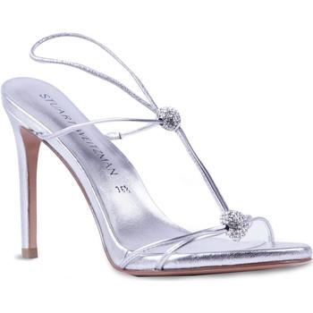 Čevlji  Ženske Sandali & Odprti čevlji Stuart Weitzman VL09249 argento