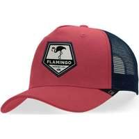 Tekstilni dodatki Kape s šiltom Hanukeii Flamingo Rdeča