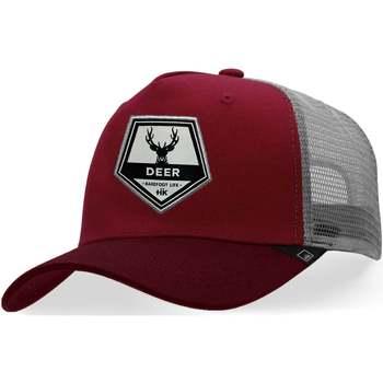 Tekstilni dodatki Kape s šiltom Hanukeii Deer Rdeča