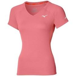 Oblačila Ženske Majice s kratkimi rokavi Mizuno Drylite Tee W Roza