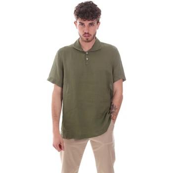 Oblačila Moški Srajce s kratkimi rokavi Sseinse CE660SS Zelena