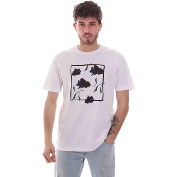 Oblačila Moški Majice s kratkimi rokavi Sseinse TE1818SS Biely